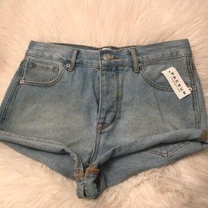 Brandy Melville denim shorts